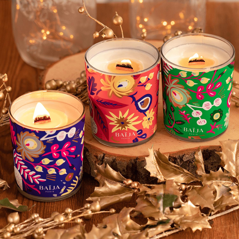 Des bougies qu'on aime à la folie!